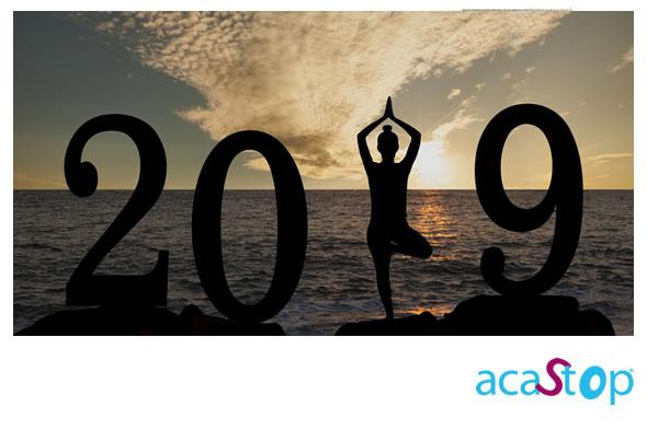 ACASTOP et toute son équipe vous souhaitent une très belle année 2019