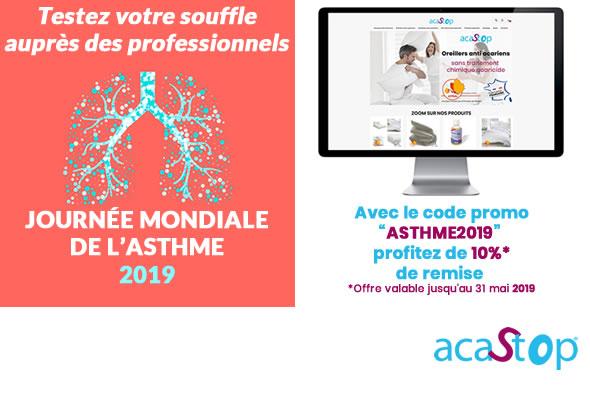 Journée de l'Asthme, testez votre souffle auprès des professionnels