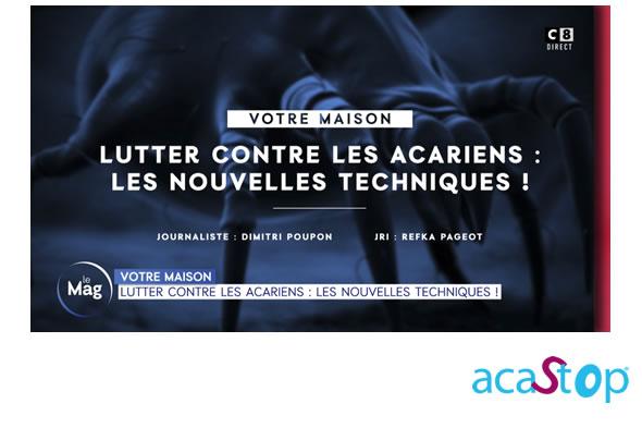 """Allergies aux acariens : la literie anti-acariens ACASTOP au programme de l'émission """"William à Midi"""" sur C8"""