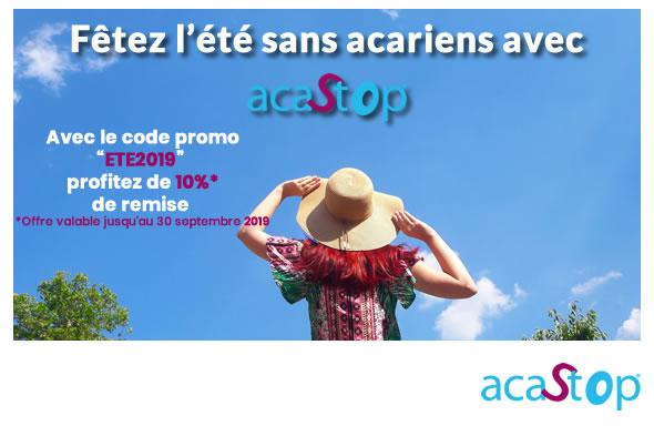 ACASTOP fête l'arrivée de l'été : profitez de notre promotion et bénéficiez de 10% de remise