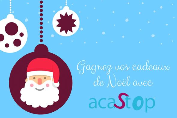 Célébrez Noël avec ACASTOP tout au long du mois de décembre et gagnez des cadeaux