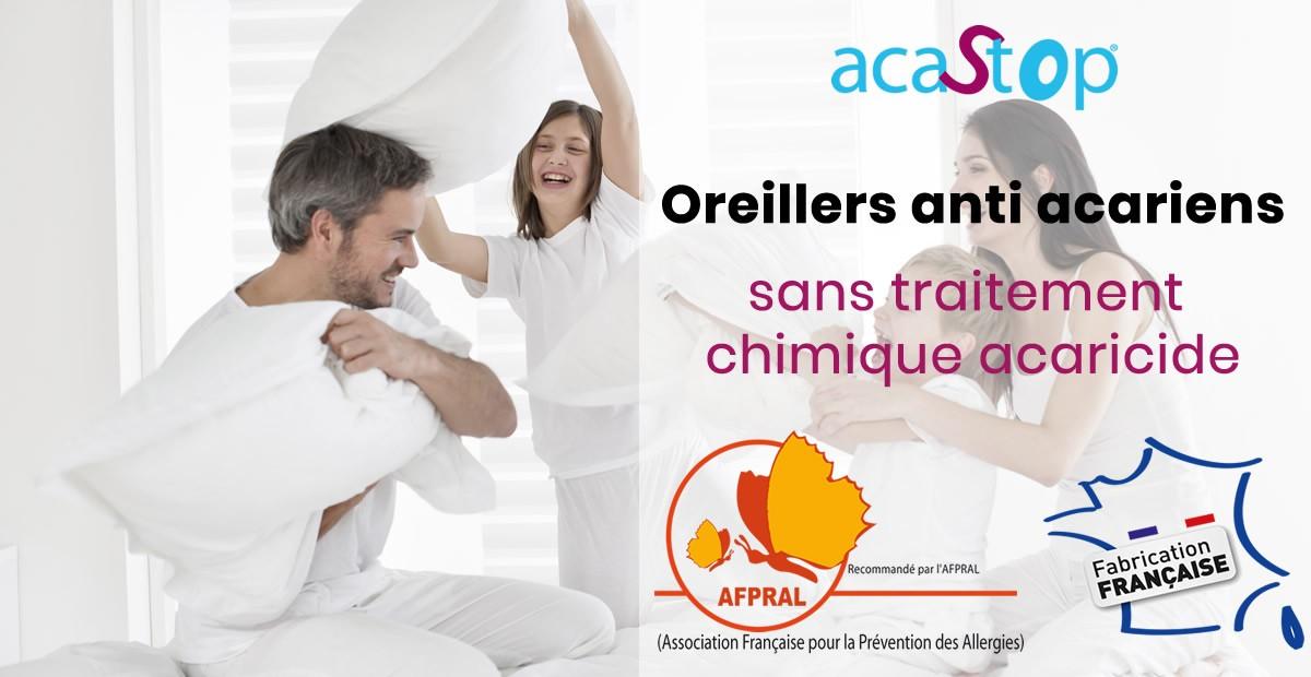 Oreillers anti acariens